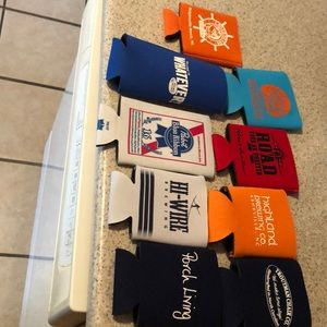 Think 💭 summer time can Koozies beverages holders